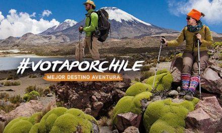 """Refuerzan llamado a votar por Chile para mantener título de """"Mejor Destino de Turismo Aventura del Mundo"""""""