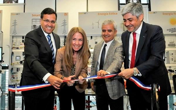 Ministra de Energía inaugura en Duoc UC el primer Laboratorio de Redes Eléctricas Inteligentes del país