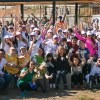Vecinos de San Bernardo, Fundación Mi Parque y voluntarios de L'Oréal Chile construyeron una nueva área verde para la comuna.