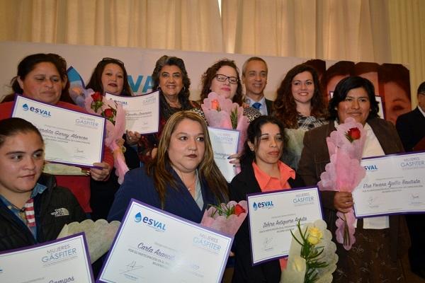15 nuevas Mujeres Gásfiter son certificadas por Esval