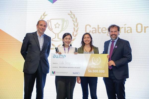 Emprendimiento mexicano se corona como el gran ganador de Jump Chile 2018
