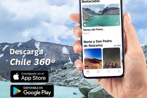 Aplicación móvil que presenta Chile en formato de realidad virtual obtiene premio internacional