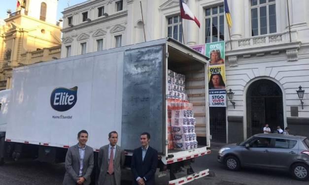 Municipalidad de Santiago y CMPC firman convenio para ir en ayuda de Camiña