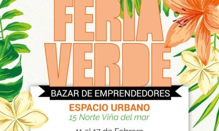 Feria Verde celebra el amor en Viña Ciudad Bella