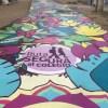 Pintan gran mural en Independencia para disminuir delitos en trayecto escolar como Iniciativa de STGO+B
