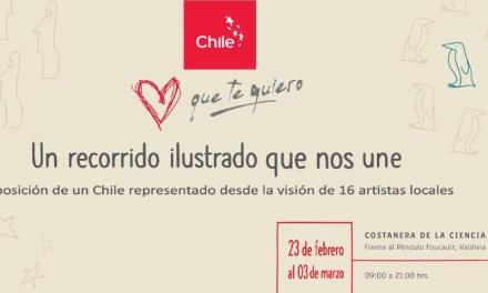 Íconos de mayor orgullo para los chilenos llegan a Valdivia a cautivar a sus habitantes