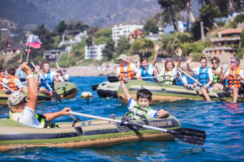 ¡Remando Tour llega a Santiago!, un entretenido panorama solidario