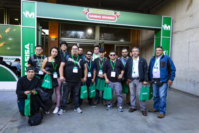 MASISA celebró a mueblistas de todo Chile