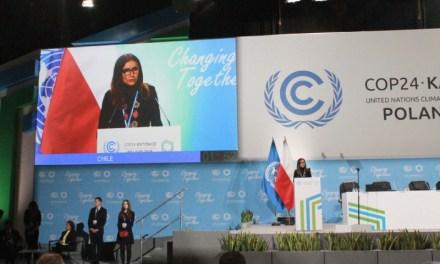 COP25: Chile anuncia fechas de la cumbre de cambio climático más importante del mundo