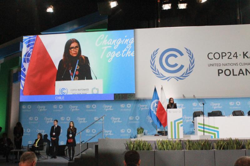 Chile anuncia fechas de la cumbre de cambio climático más importante del mundo