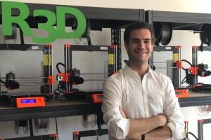 R3D: Emprendedor belga pionero en impresión 3D en Chile
