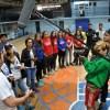 Clubes de básquetbol de la Cisterna reciben de DIRECTV Chile mejoras en sus instalaciones