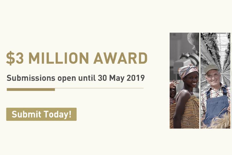 Premio Zayed a la Sostenibilidad 2019 repartirá 3 millones de dólares entre soluciones innovadoras e inspiradoras en los campos de la salud, agua, energía y alimentación.