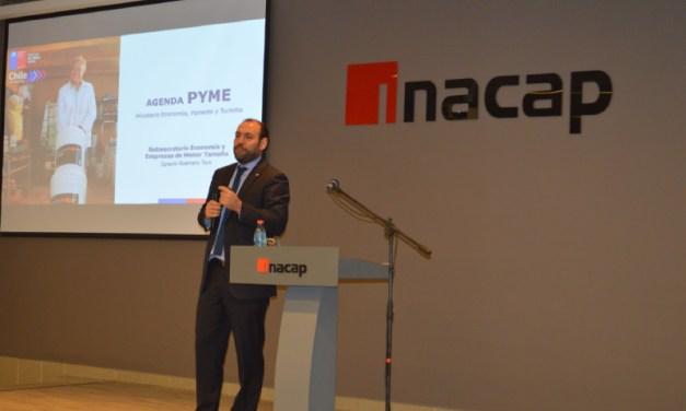 Empresarios y pymes de Rancagua asistieron a seminario sobre nueva Ley de Pago a 30 Días y Ley de Quiebra