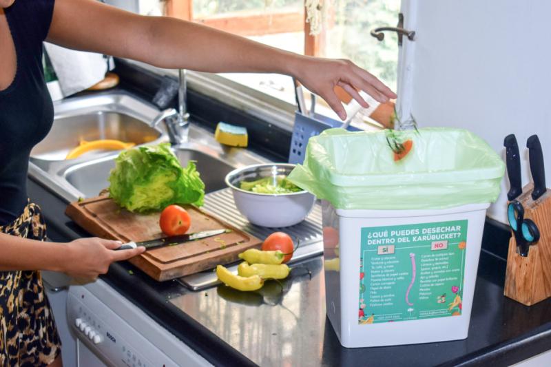 Karübag: concientizar sobre la importancia del reciclaje de residuos orgánicos