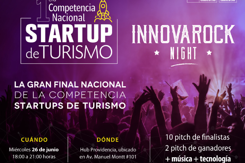 Diez startups de turismo competirán a nivel nacional para representar a Chile en la Competencia Americana de Startups de Turismo