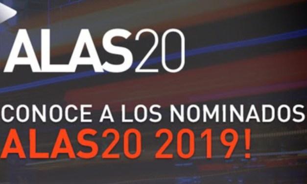 Governart anuncia las empresas e inversionistas nominados en ALAS20 año 2019