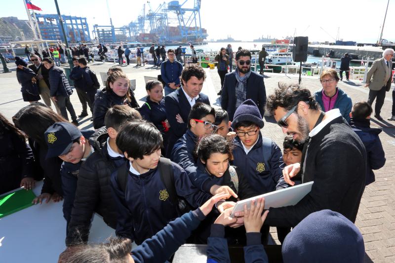 Museo Baburizza firma importante convenio de cooperación con Empresa Portuaria Valparaíso