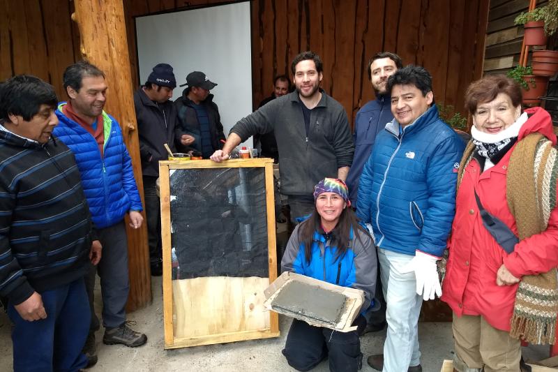 En Trafún y Liquiñe: aprenden a construir tecnologías desde el turismo de base comunitaria