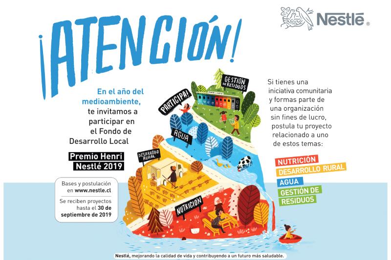 Nestlé Chile busca proyectos innovadores para impulsar el desarrollo local y sustentable