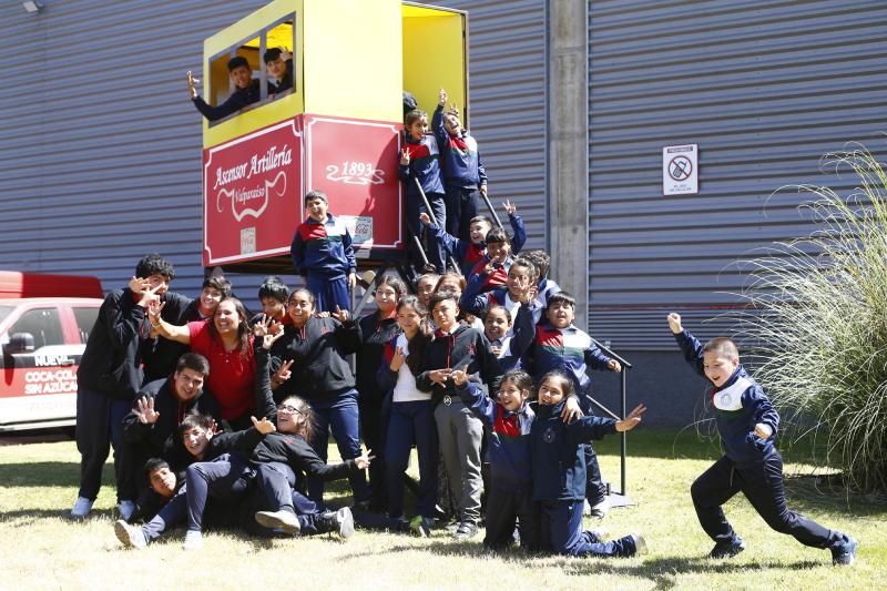 Alumnos de Valparaíso logran reciclar 7,5 toneladas de residuos