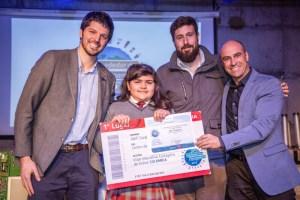 Alumna de La Pintana es la ganadora de la Campaña Ambiental Alrededor de Iberoamérica 2019