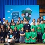Ministra Schmidt encabeza lanzamiento de La Hora del Código COP25Chile