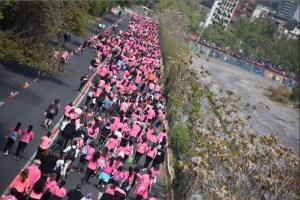 Más de 10 mil personas tiñeron de rosado la XXIII Edición de la Corrida Caminata AVON-FALP para ganarle al cáncer de mama