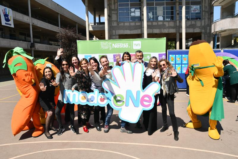 TVN y Nestlé se comprometen a llevar la bandera de una alimentación saludable en Chile