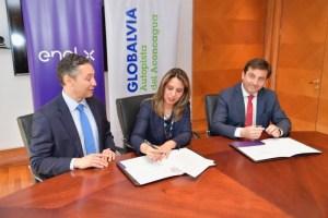Enel X firma acuerdo de colaboración con Globalvia Autopista del Aconcagua para implementar cargadores de vehículos eléctricos
