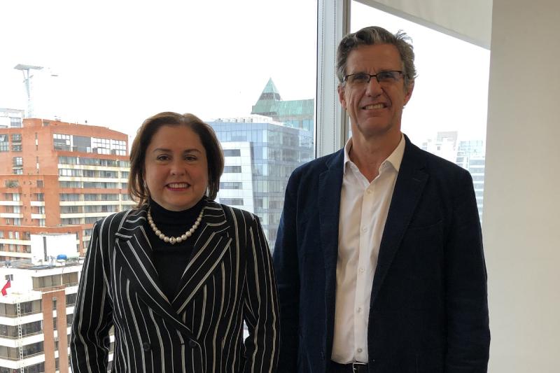 Gloria Maldonado, nueva directora ejecutiva del Centro de Investigación e Innovación en Energía Marina