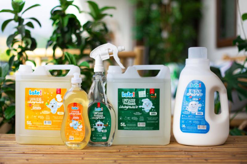 Late! lanza nuevo producto: detergente 100% orgánico, sustentable y que dona todas sus ganancias