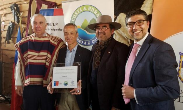 Sernatur distingue a Esval por su aporte turístico a la Región de Valparaíso