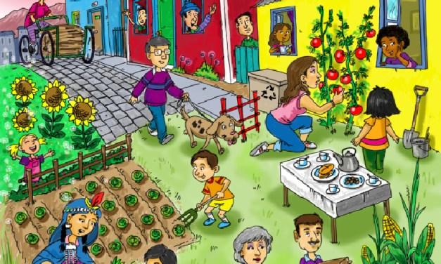 Barrio Yungay de Santiago recibe al Primer Encuentro Nacional de Ecobarrios y Huertas Urbanas