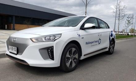 Multiexport Foods incorpora piloto de electromovilidad a su flota de vehículos corporativos