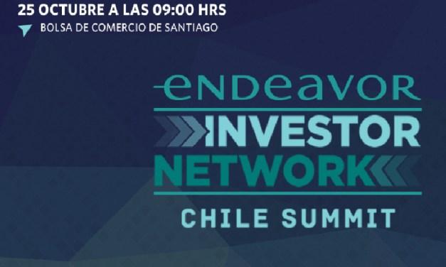 25 fondos de inversión locales e internacionales se reunirán en Santiago en una nueva versión de Endeavor Investor Network
