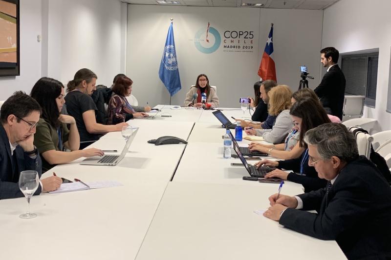 """La ministra del Medio Ambiente y presidenta de la COP25, Carolina Schmidt: """"Los países en desarrollo tenemos muchos problemas socio-ambientales que sólo se agravan con el calentamiento global"""""""