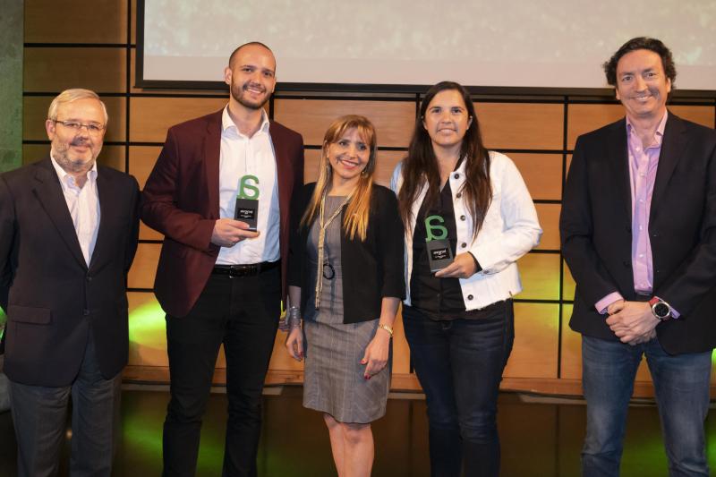 Übank ganó premio Avonni en la categoría de Servicios Digitales Entel