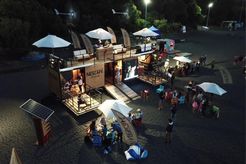 Nescafe® reunirá a veraneantes en el primer Sunset 100% sustentable del país