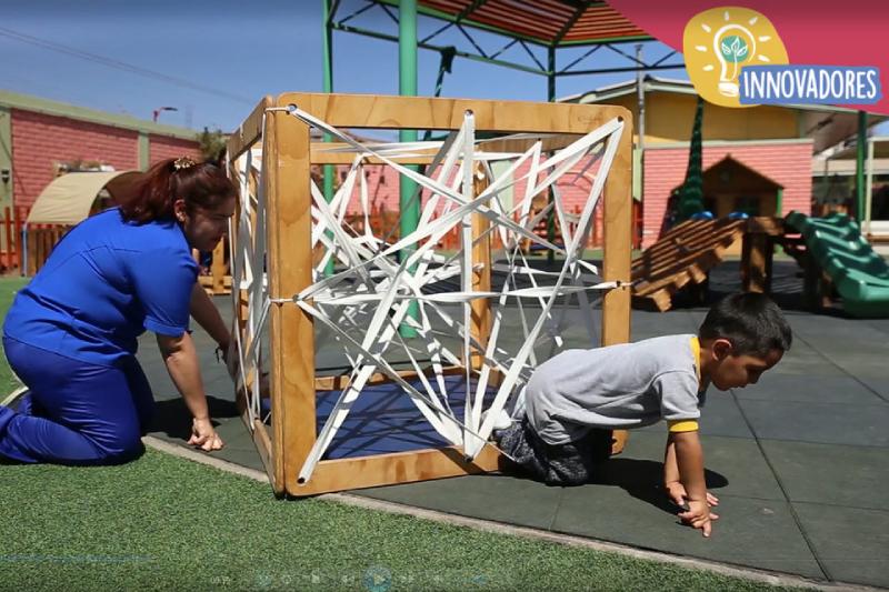 JUNJInnova: Crean línea de mobiliario infantil sustentable diseñada por educadoras del jardín infantil en Arica