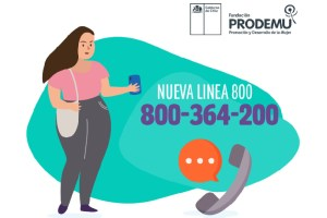 #PRODEMUEscucha, el primer número de teléfono gratuito para el acompañamiento a las mujeres.