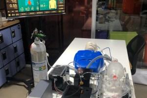 UTalca y UDD fabrican ventilador mecánico modular