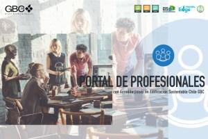Chile GBC lanza Portal de Profesionales con acreditaciones