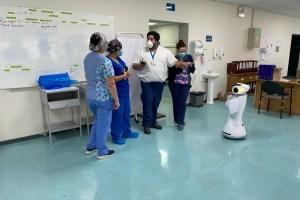 Eva: el robot de PwC que se suma al combate contra el Covid-19