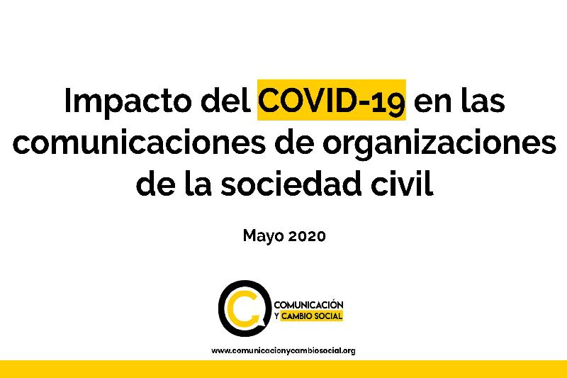 Comunicación digital y presencia en la agenda pública: algunos de los desafíos comunicacionales de fundaciones y ONG frente al COVID-19