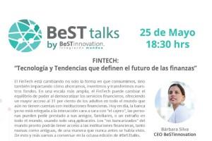 """BeST Talks – Fintech: Tecnología y tendencias que pueden afectar el futuro de las finanzas"""""""