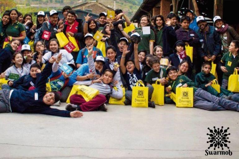 Proyecto Swarmob de Corfo Metropolitano finalista de los Premios VIVA 2020