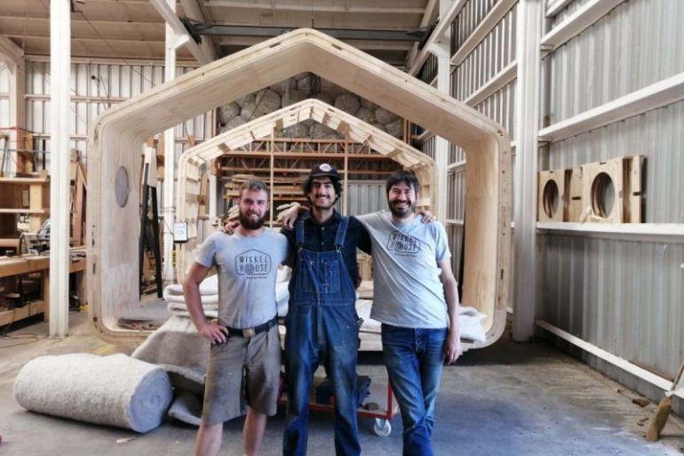 Wikkelhouse: la apuesta holandesa de viviendas minimalistas en madera llegó a Chile