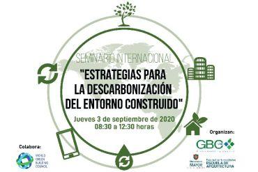 Seminario Chile GBC analizará los mecanismos para mitigar efectos del cambio climático