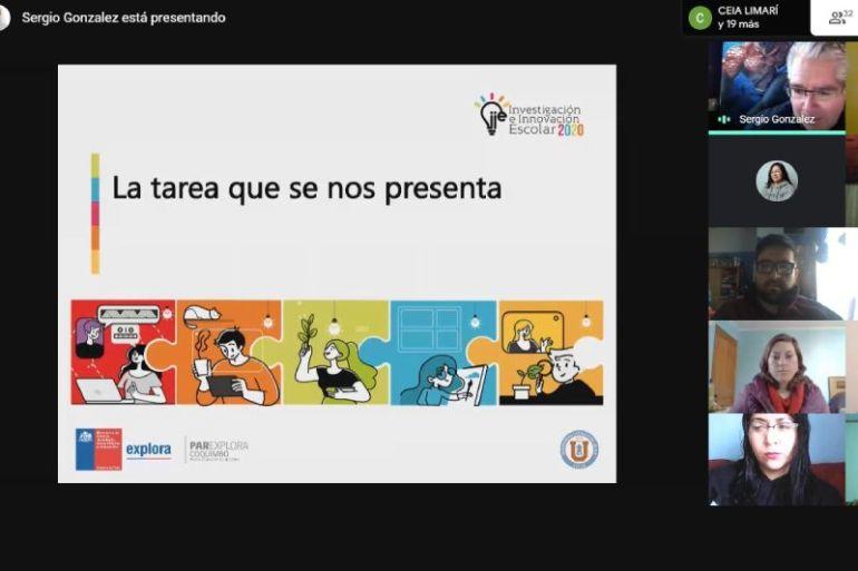 Lanzan en la Región de Coquimbo programa científico escolar con foco en investigaciones virtuales y asociadas a la pandemia